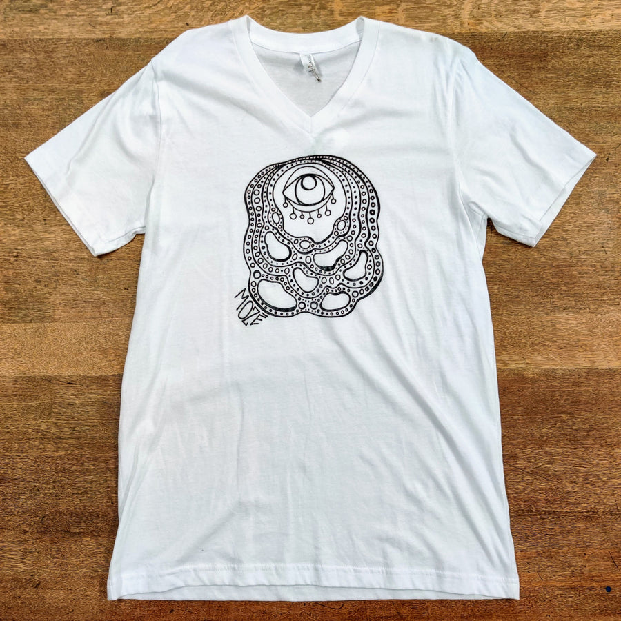 Moze Amoeba V-Neck Tee Collection