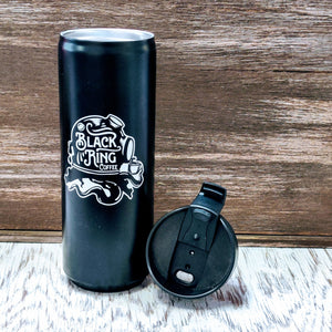 Black Ring Coffee Tumbler