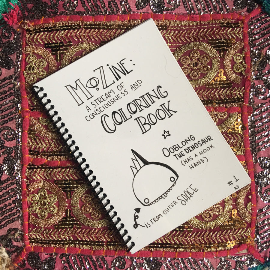 Mozine: A Stream of Consciousness Coloring Book