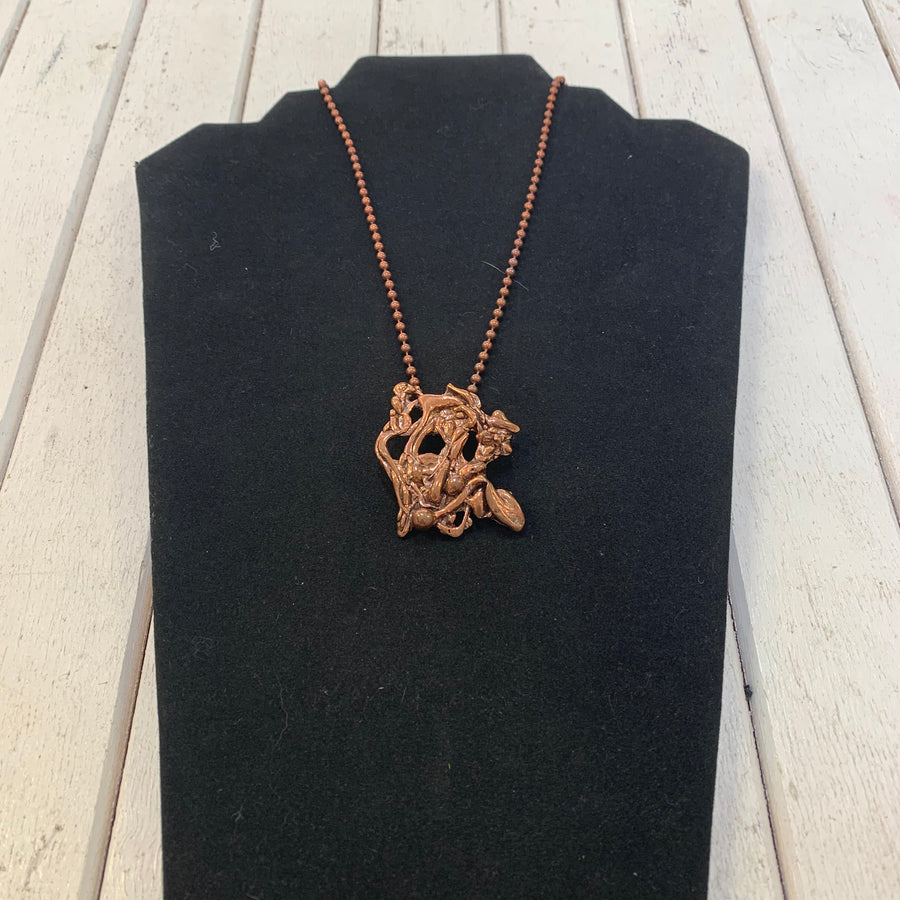 Bronze Lost Wax Necklace