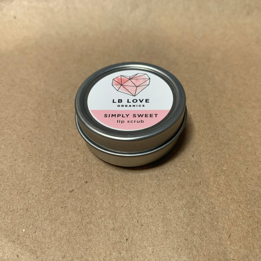 LB Love Organics Lip Scrub Collection