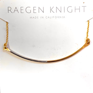 Raegan Knight Curved Bar Necklace