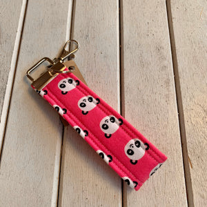 Paloma and Porkchop Key Fob