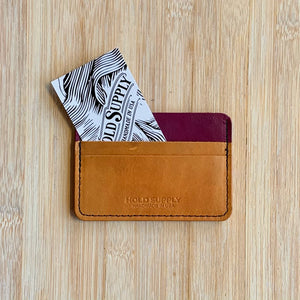 Leather Card Wallet Collection