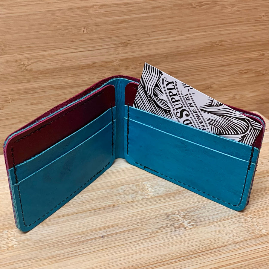 Leather Bi Fold Wallet Collection