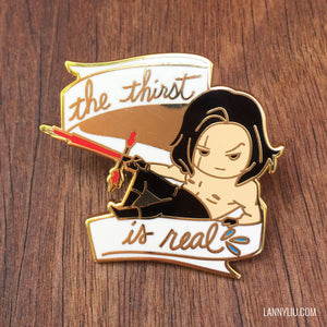 Kylo Thirst Enamel Pin