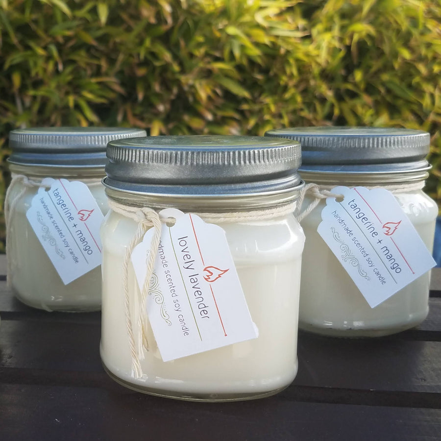 Scented Mason Jar Candle Collection