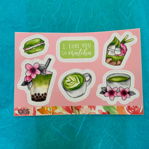 Quirks and Smirks Sticker Sheet Collection