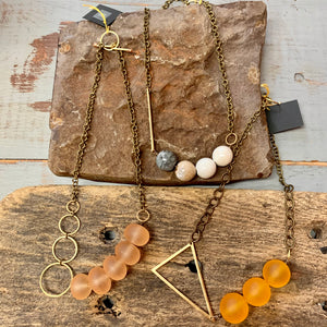 Vintage Resin Necklace Collection