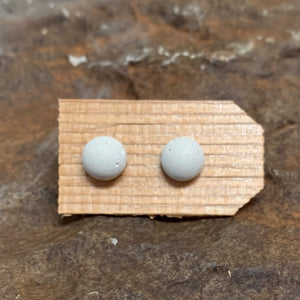 Concrete Stud Earring Collection