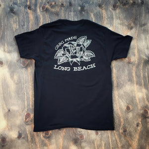 Long Beach Rose Tee