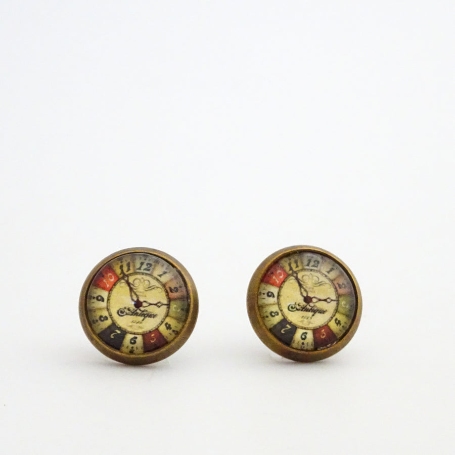 Accessory Alchemy Paper Under Glass Studs Collection