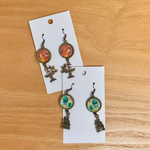 Accessory Alchemy Dangler Earrings with charms