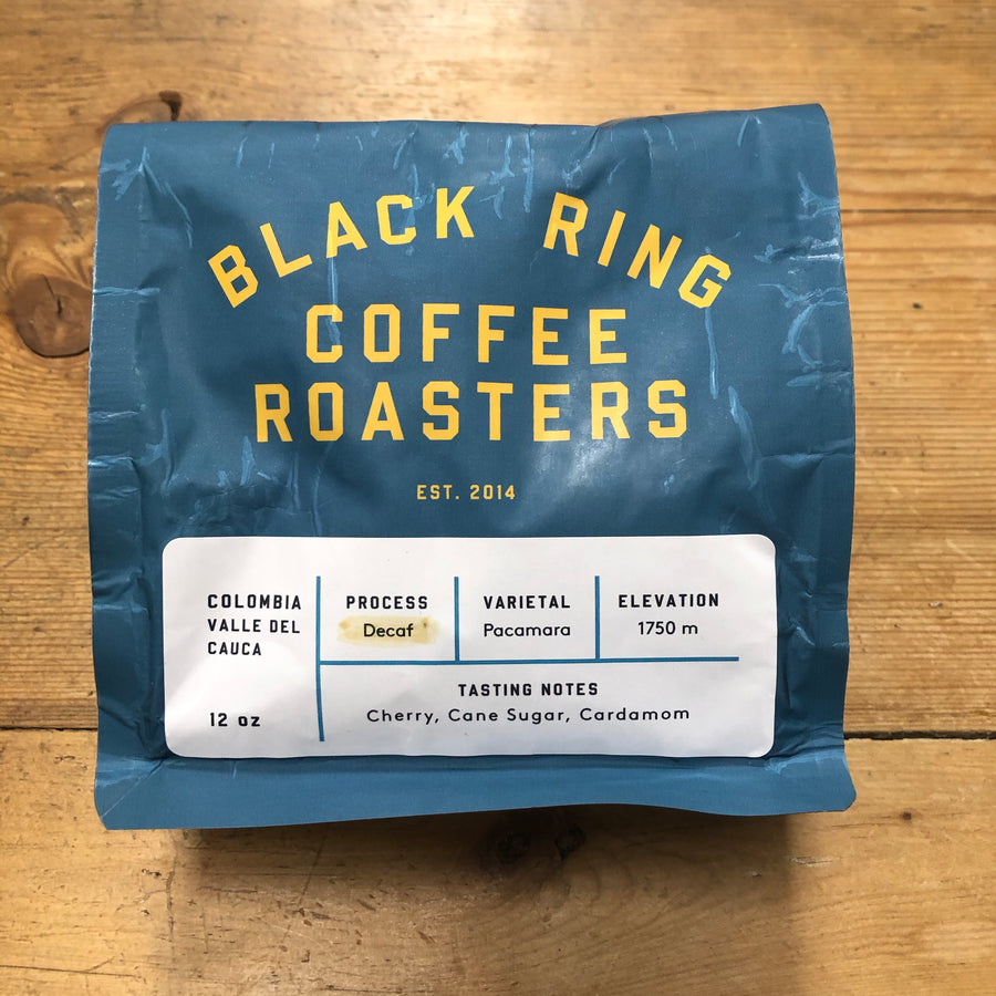 Black Ring Coffee DECAF Beans