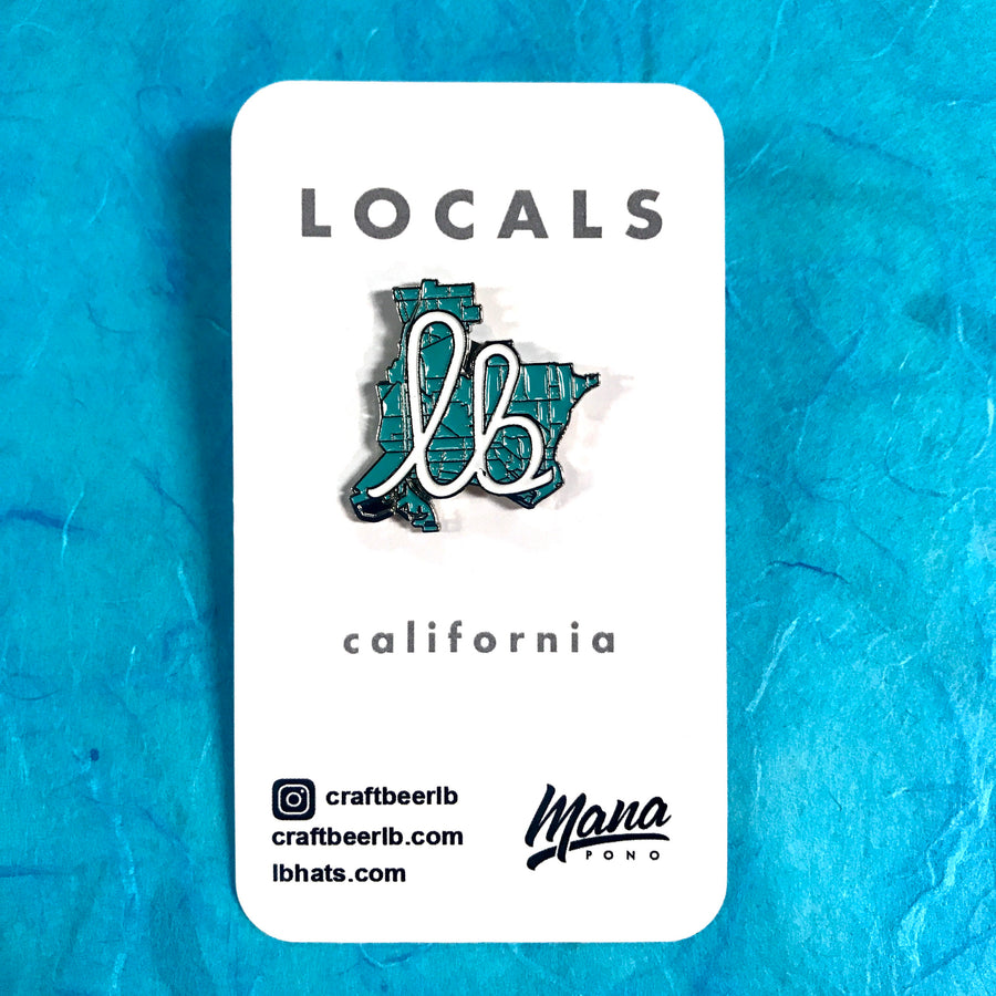 Craft Beer LB Enamel Pin