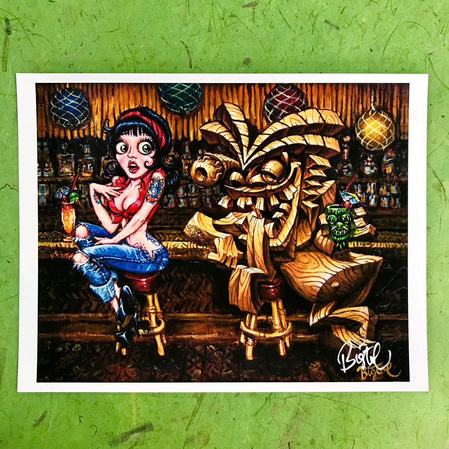 "Art by Big Toe - Prints - 8""x11"" Collection"