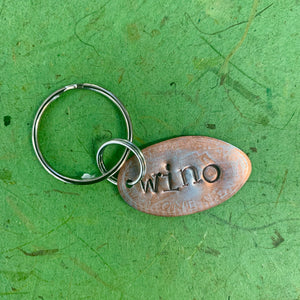 Hand Stamped Pressed Penny Key Chain Collection