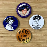 Miss Alice Paul Suffrage Buttons