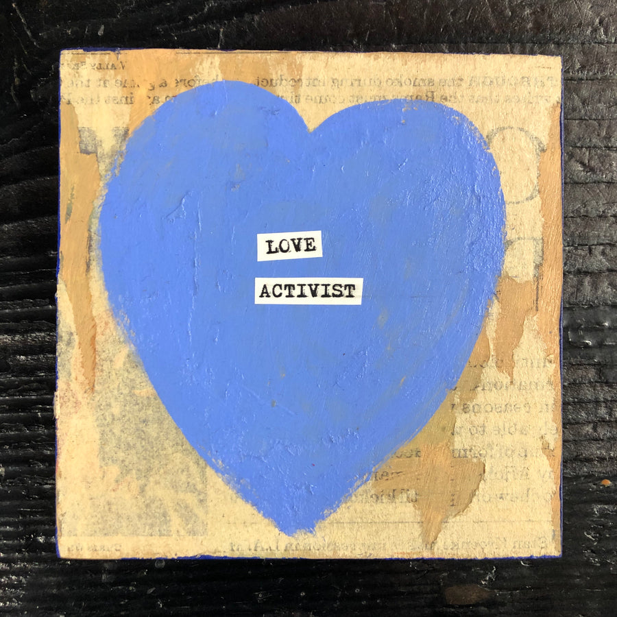 Love Activism Wood Art Collection