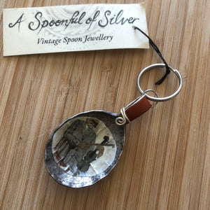 Spoon & Leather Key Chain Collection