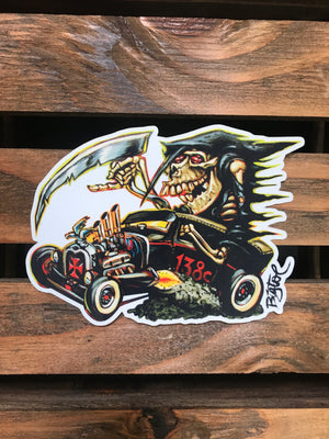Art by Big Toe - Sticker Collection