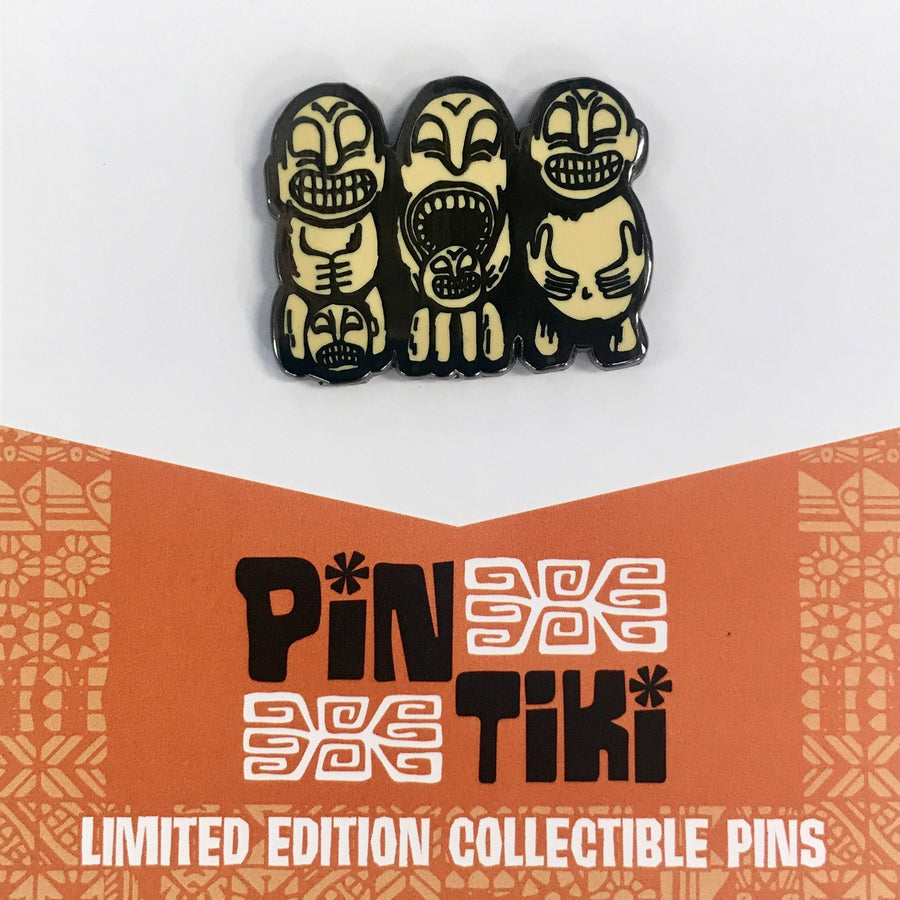 Cannibal Trio Pin