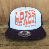 Long Beach Vintage Trucker Cap