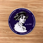 Miss Alice Paul Suffrage Decal