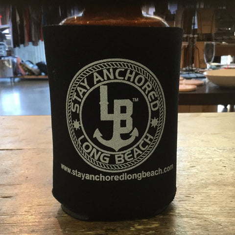 Stay Anchored Long Beach Koozie