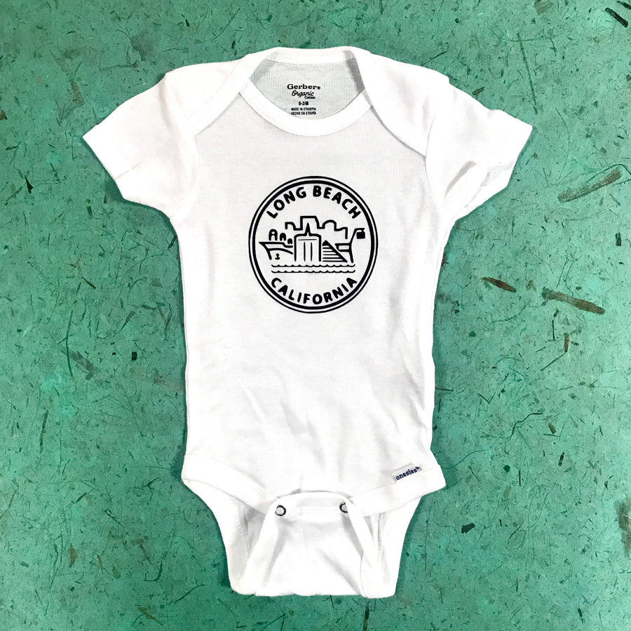 Long Beach Baby Onesie Collection