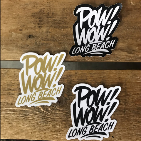 2019 Pow! Wow! Sticker