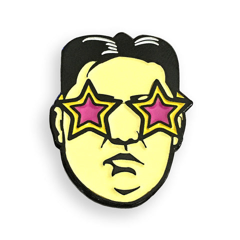 Rocket Man Pin