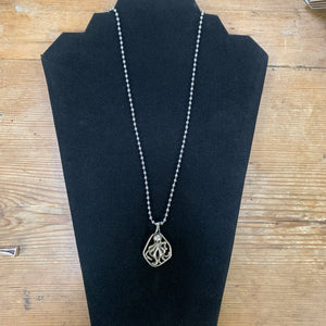 Sterling Octopus Necklace