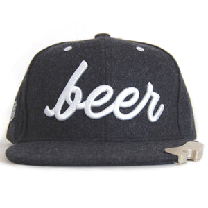 Local Beer Brand Bottle Popper Hat