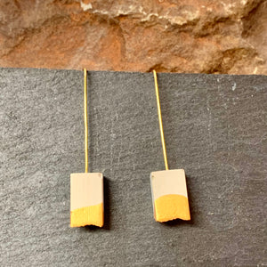 Concrete Dangle Earring Collection