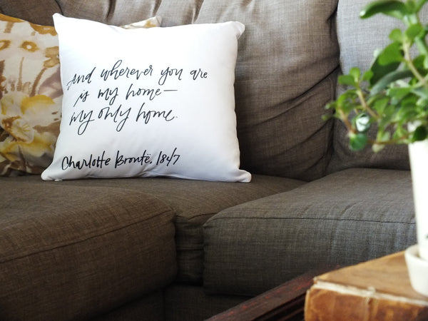 My Only Home · Accent Pillow