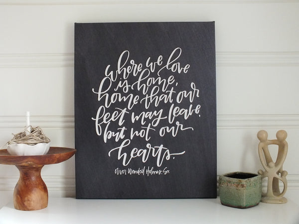 Our Heart's Home ·  Print
