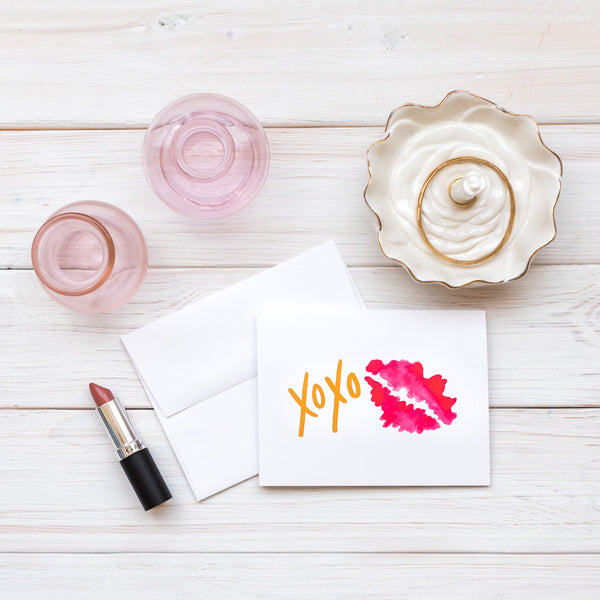 XOXO Smooch · Greeting Card