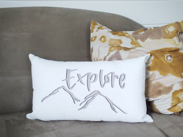 Explore · Accent Pillow