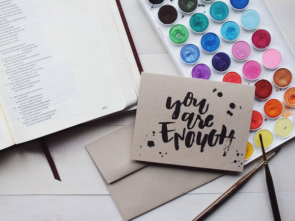 You are enough ·  Greeting Card