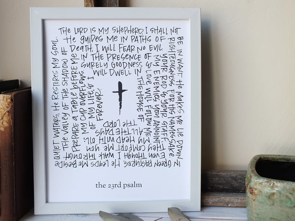 The 23rd Psalm · Print/Canvas