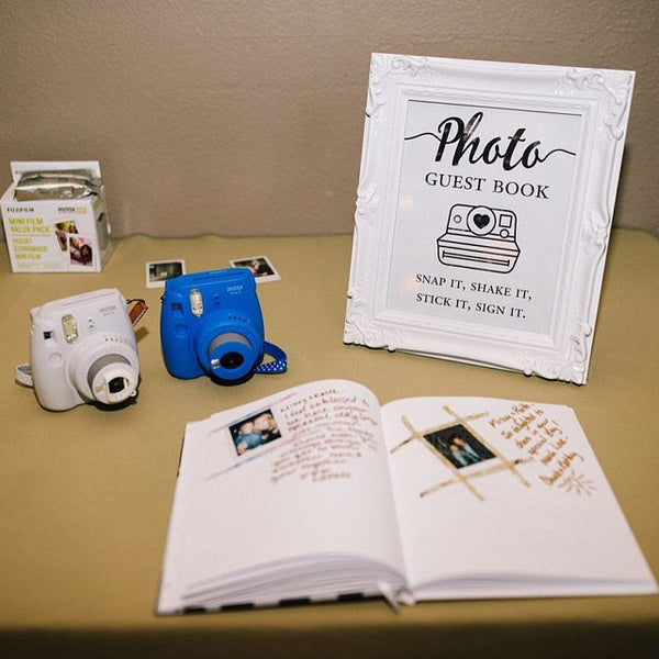 Tips on creating a photo guest book