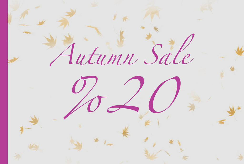 Autumn Sale 20% Discount!