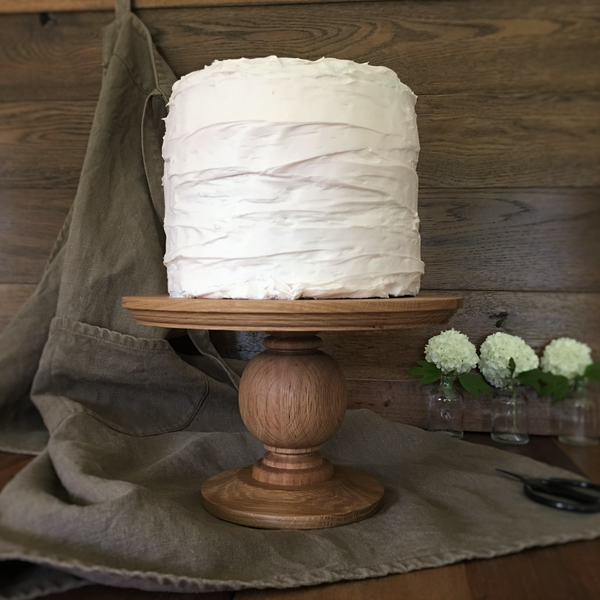 Turned Cake Pedestal
