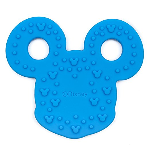 Bumkins Disney Baby Silicone Teether, Mickey Mouse