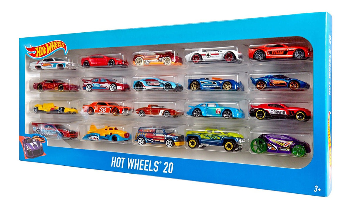 Hot Wheels 20 Car Gift Pack (Styles May Vary)