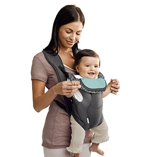 Evenflo Breathable Soft Carrier, Grey Chevron