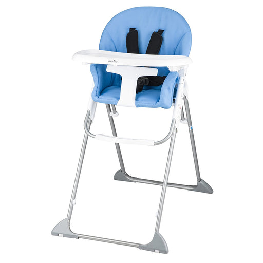 Evenflo Clifton High Chair, Sky Blue
