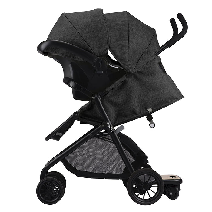 Evenflo Sibby Travel System w Litemax ICS, Charcoal