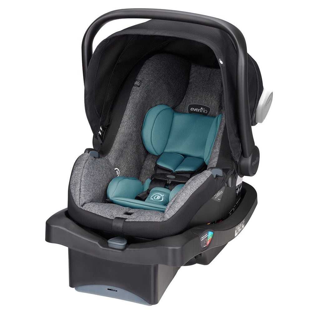 Evenflo LiteMax 35 Platinum Infant Car Seat, Eugene Tweed